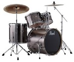 Pearl Export Series Drum Set W/Hardware Smoky Chrome