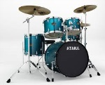 Tama Imperial Star 5 piece Drum Set Hairline Blue