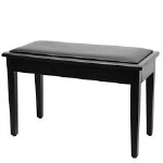 On-Stage Deluxe Piano Bench with Storage