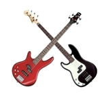 Left-Handed Bass Guitars