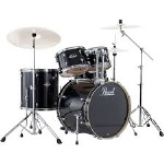 Pearl Export Series Drum Set W/Hardware Jet Black