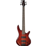 Ibanez GSR 5 String Bass Guitar Charcoal Brown Burst