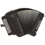 Hohner Compadre Black Accordion