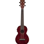 Gretch G9110-L Concert Long-Neck Acoustic/Electric Ukulele with Gig Bag