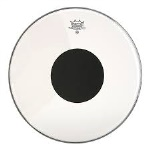"13"" Controlled Sound Clear w/Black Dot"