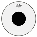 "14"" Controlled Sound Clear w/Black Dot"