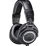 ATH-M50 Closed-back dynamic monitor headphones