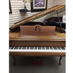 "W.M. Knabe Chippendale 5'1"" French Cherry Grand Piano Preowned"