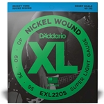 Daddario SET BASS XL 40-95 SHORT