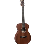 Martin 0X2MAE Small Body Acoustic Electric Guitar - Mahogany
