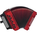 Hohner Compadre Red Accordion