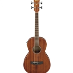 Ibanez PERFORMANCE SERIES Acoustic Electric Parlor Bass Guitar - Mahogany