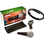 Shure PGA48 Microphone 1/4 cable