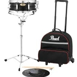 Snare Kit, w/SKBC9 Nylon Backpack-style Carrying Case w/Wheels