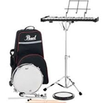 Percussion Learning Center w/PLBC9 Nylon Carrying Case w/Wheels