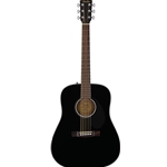 Fender CD-60S Dread Black Acoustic Guitar
