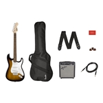 Fender PK SQ Srat BSB Electric Guitar