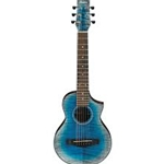 Ibanez Piccolo Guitar Glacier Blue Acoustic Guitar