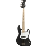 Squier Cont ACT J Bass HH MN FLT BLK