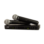 Shure Dual Handhelt PG58 Wireless system