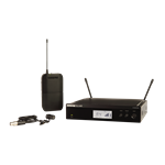 Shure BLX14R Lapel System With WL185