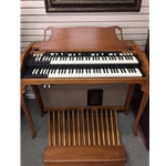 Hammond A-102 French Console Organ w/ Leslie-122 Speaker