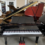 Young Chang G-150 Polished Ebony 5' Grano Piano Preowned
