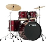 Tama Imperial Statr 5 Piece Drum Set Vintage Red