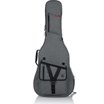 Gator Acoustic Guitar Transit Series Gig Bag with Light Grey Exterior