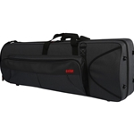 Lightweight Gator Trombone Case with internal accomodation for F-attachment