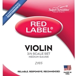 Red Label SS2105  3/4 Violin