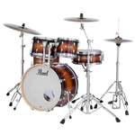 Pearl Export EXL 5-Piece Drum Set Gloss Tobacco Burst