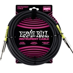 Ernie Ball  20-foot Instrument Cable Black