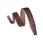 "Levy 2 1/2"" Leather Guitar Strap"