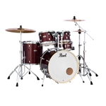Pearl Decade  5 Piece Set Shell Pack Maple Crimson Galaxy Flake