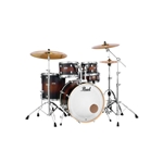 Pearl Decade 5 Piece Maple Shell Pack Satin Brown Burst