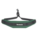 Neotech Soft Sax Strap Green W/Swivel Hook