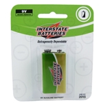 Interstate 9v Battery 1 Pack