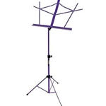 On Stage Music Stand w/bag Purple