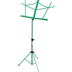 On Stage Music Stands w/Bag Green