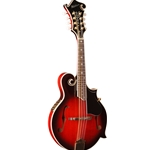 Washburn Mandolin with Florentine Cutaway - Transparent Wine Red
