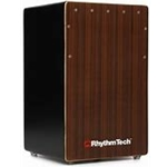 Rhythm Cajon Black Enhanced Bass Port Cajon