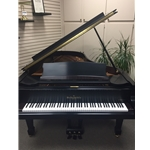 William Knabe & Co. 7' Conservatory Grand Satin Ebony Preowned