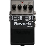 USED Boss RV-6 Reverb Effects Pedal