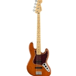 Fender LTD PLAYER JAZZ BASS Electric Bass - Aged Natural w/ Maple Fretboard