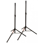 JamStands JS-TS50 Tripod-Style Speaker Stand, Pair With Carry Bag