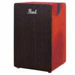 Pearl Cajon Abstract Red finish