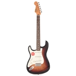 Squier Classic Vibe '60s Stratocaster® Left-Handed, Laurel Fingerboard, 3-Color Sunburst Electric Guitar