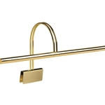 House of Troy GPXL22-61 Slim-Line Pol. Brass Grand Piano Lamp