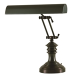 "House of Troy P14-204-81 Mahog. Bronze 14"" Piano Lamp"